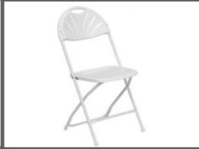 Where to find CHAIR, FANBACK WHITE in Martinsburg