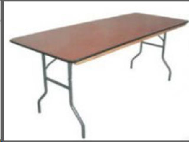 Table Long Banquet 3o Inch Wide X 96 Inch Long Rentals